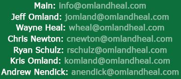 Omland Heal LLP Email address
